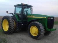 2001 JOHN DEERE 8410, Engine: 235 HP, 3300 hours,