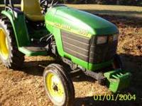 i have a like new 4300 compact tractor 257 hours p.s.