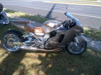 Year: 2001Exterior Color: Tan Make: KawasakiEngine Size