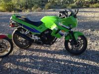 I have a very great running 2001 ninja ex250 for sale.
