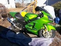 2001 Kawasaki ZX12 here for sale with 19,XXX miles.