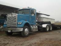 2001 Kenworth W900. 2001 Kenworth W900 design in