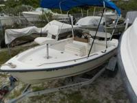 2001 Key West Center console 2001 Key West 15' CC BOAT: