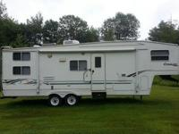 ,.....,,,,2001 Keystone Cougar 30' 5th Wheel CamperNo