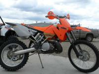 Motorcycles Off-Road 1698 PSN . 2001 KTM 300 M/XC CLEAN