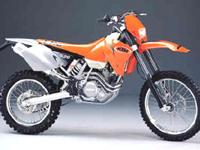 2001 KTM 520 E/XC Tear up the trails! Motorcycles