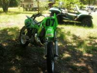 2001 KX-250 DIRT BIKE, IT'S A BEAST AND ONE OF THE