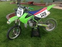 I have a 2001 KX85 Motocross bike with title for sale.