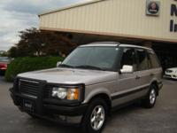 Options Included: 2001 Range Rover SE Beige over Gray