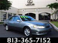 2001 Lexus ES 300 Our Location is: Lexus Of Tampa Bay -