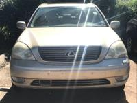 Options:  2001 Lexus Ls 430|/|V8 4.3 Automatic|271987
