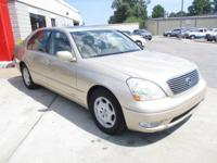 We have for sale a very nice 2001 Lexus LS 430 !!!!