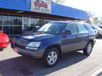Options Included: 2001 Lexus RX300, AWD/4X4, Auto, AC,