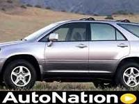 2001 Lexus RX 300 Our Location is: Lexus Of Tampa Bay -