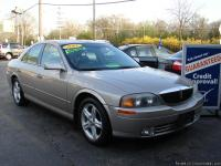2001 LINCOLN LS SPORT V6-automatic trans, heated/memory