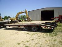 2001 Load Max 20T 20Ton lowboy tag trailer VERY NICE 40