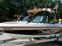 Really nice 2001 Malibu 21 foot VLX Wakesetter for