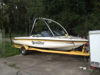2001 MALIBU SPORTSTER LX Open Bow (seats 8), Yellow &