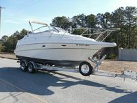 Boat comes with a Bimini Top, and a complete enclosure,