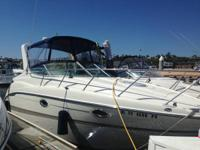 FOR SALE THIS BEAUTIFUL 2001 MAXUM 2700 SCR. BOAT IS