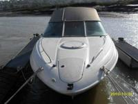 2001 Maxum 2300 SC Cabin Cruiser with a 2007 Loadrite