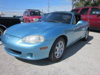 Here we have a 2001 Mazda Miata MX-5 in great shape
