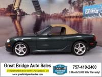2001 Mazda Miata CARS HAVE A 150 POINT INSP, OIL