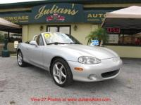 We present to you this 2001 Mazda Miata in immaculate