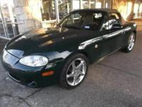 Check out this gently-used 2001 Mazda MX-5 Miata we