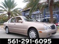 this 2001 mercedes-benz e-class awd is offered