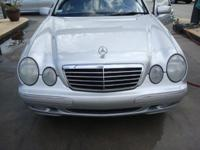 This 2000 Mercedes Benz E320 V6 is the most reliable