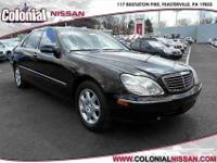 Check out this 2001 Mercedes-Benz S-Class which has had