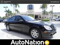 2001 Mercedes-Benz S-Class Our Location is: