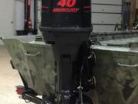 Bought this jet outboard motor from the Arkansas Game