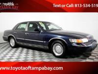 Options:  2001 Mercury Grand Marquis Ls|Blue|The Toyota