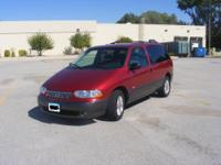 2001 Mercury Villager Van Sport Model. Approximately