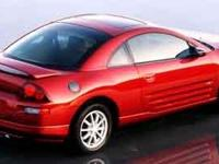 New Arrival! This 2001 Mitsubishi Eclipse GS will sell