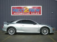 Options Included: This Is A 2001 Mitsubishi Eclipse GT