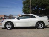 2001 MITSUBISHI ECLIPSE LIMITED EDITION LEATHER