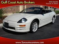 Options Included: N/A2001 MITSUBISHI ECLIPSE GT SPYDER!