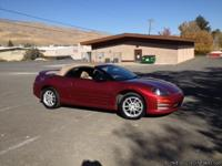 Spyder Eclipse GT convertible, red body with new tan