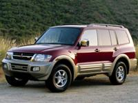 2001 Mitsubishi Montero LimitedOnly available @