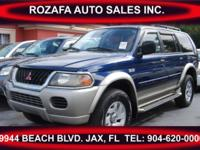 2001 Mitsubishi Montero Sporting activity in superb