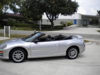 2001 MITSUBISHI ECLIPSE GT SPYDER 5 SPEED MANUAL.