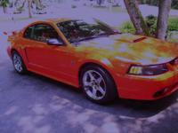 2001 Mustang GT, Performance red w/charcoal/red