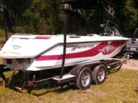 Check out this 2001 Nautique Super Air Nautique. Set up