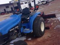 2001 New Holland Agriculture TC25 NH TC25 2WD turf