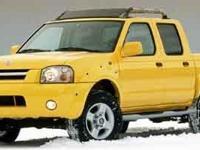 2001 Nissan Frontier 3.3L V6 SMPI SOHC 3.3L V6 SMPI