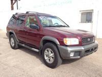 For sale at J&C Auto Sales! 2001 Nissan Pathfinder SE:
