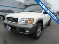 Trustworthy and worry-free, this 2001 Nissan Pathfinder